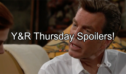 'The Young and the Restless' Spoilers: Billy Joins Phyllis for Cabin Love – Devon Fights Jack Over Hilary