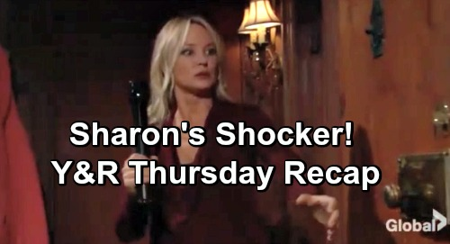 The Young and the Restless Spoilers: Thursday, December 20 Recap – Terrified Sharon's Shocker – Tessa and Kyle Team Up