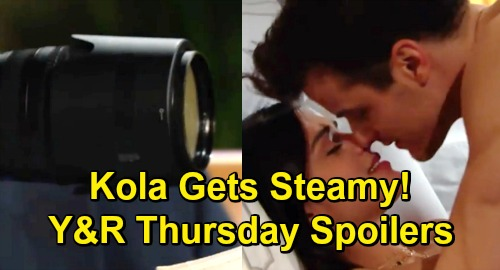 The Young and the Restless Spoilers: Thursday, April 11 – Kyle and Lola Get Steamy, Phyllis Scores Proof – Billy Solves Mystery