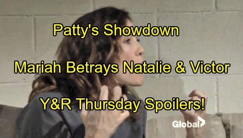 The Young and the Restless Spoilers: Patty's Showdown, Dylan Defends Sharon – Mariah Betrays Victor and Natalie To Hilary