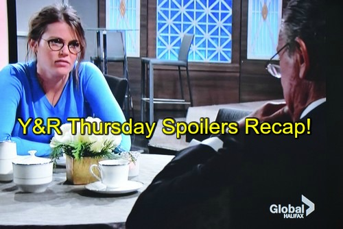 The Young And The Restless Yr Spoilers Thursday January  Recap