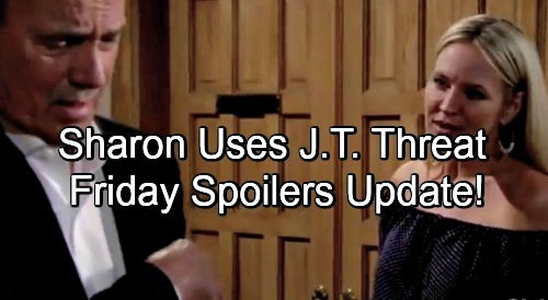 The Young and the Restless Spoilers: Friday, June 8 Update – Sharon Gives Nikki Horrifying Ultimatum, Threatens J.T. Exposure