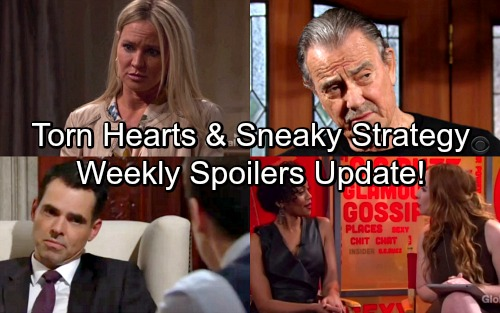 The Young and the Restless Spoilers: Week of April 30 Update – Sizzling Temptation, Torn Hearts and Devious Strategies