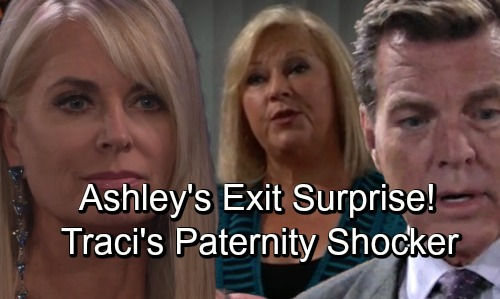 The Young and the Restless Spoilers: Traci's World Turned Upside Down – Ashley's Exit Brings Huge Paternity Shocker