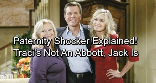 The Young and the Restless Spoilers: Stunning Paternity Twist – Traci's Not a Blood Abbott, Jack's the Real Deal