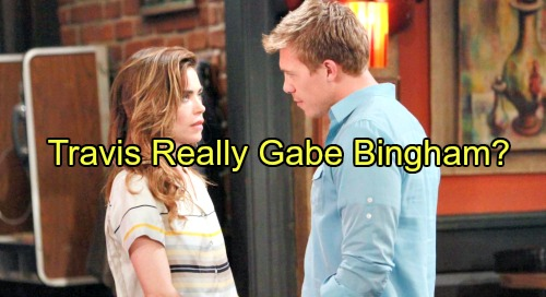 The Young and the Restless Spoilers: Is Travis Crawford Really Gabe Bingham - Wolf in Sheep's Clothing?
