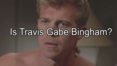 The Young and the Restless (Y&R) Spoilers: Is Travis Really Gabriel Bingham - Back from the Dead for Revenge?