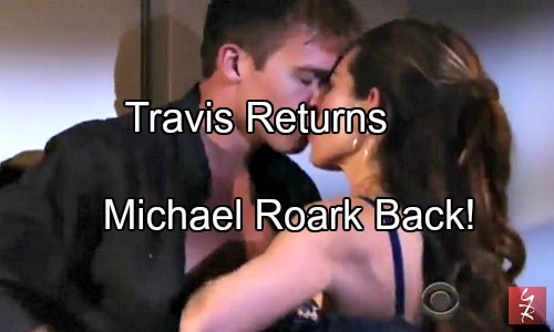 'The Young and the Restless' Spoilers: Travis Back in Genoa City – Mal Young Hints at Michael Roark's Return