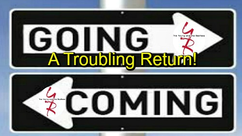 The Young and the Restless Spoilers: Comings and Goings – An Emotional Farewell and a Troubling Return – New Character Shakes Up GC