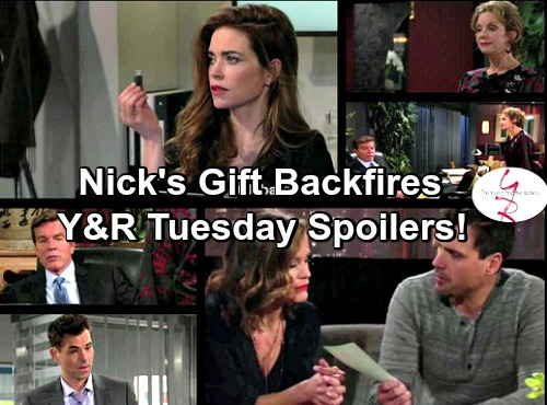 The Young and the Restless Spoilers: Nick's Gift Stuns Chelsea – Jack Admits He's Targeting Billy – Victoria's Theft Pays Off