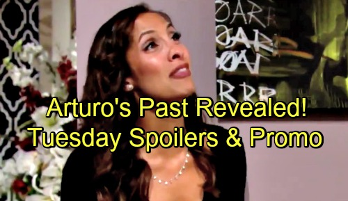 The Young and the Restless Spoilers: Tuesday, July 31 – Arturo's Past Revealed – Kyle's Tough Fight – Cane Struggles to Protect Lily