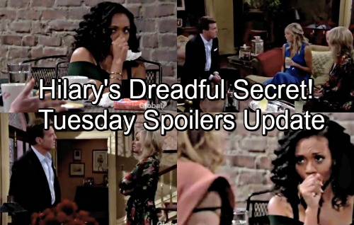 The Young and the Restless Spoilers: Tuesday, June 19 Update – Jack Grills Esther About Dina-Phillip Affair – Hilary Keeps a Secret