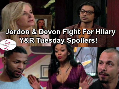 The Young and the Restless Spoilers: Jordan Flirts with Hilary, Confronts Devon - Ravi Wants Ashley's Love