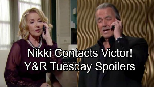 The Young and the Restless Spoilers: Tuesday, November 27 – Mariah's Tough Decision, Tessa or Coverup Crew – Nikki Contacts Victor