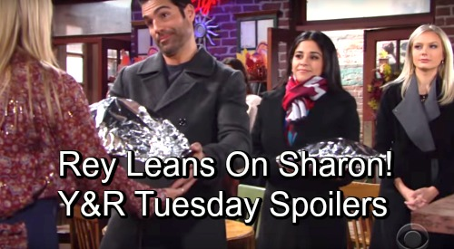 The Young and the Restless Spoilers: Tuesday, November 20 – Victoria Caught Red-handed – Rey Leans on Sharon