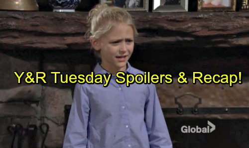 The Young and the Restless Spoilers: Sharon Breaks Faith's Heart - Kevin Warns Mariah of Legal Trouble – Hilary Wants Baby Scoop