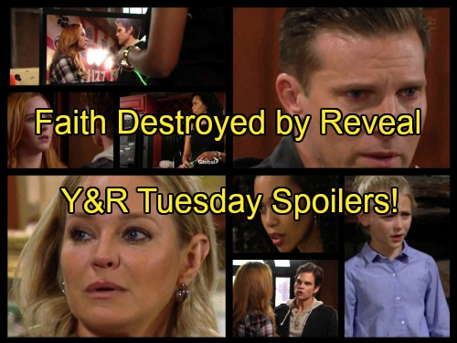 The Young and the Restless Spoilers: Faith Traumatized by Sully News – Kevin Grills Mariah, Hilary Films Christian Reveal