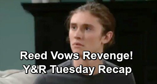 The Young and the Restless Spoilers: Tuesday, December 11 Update – Reed Vows Revenge – Billy's Brutal Honesty – Nikki Turns to Alcohol