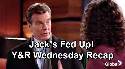 The Young and the Restless Spoilers: Wednesday, December 12 Update – Sharon Makes a Deal – Reed's Shocking Discovery – Jack's Fed Up