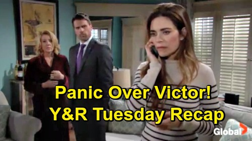 The Young and the Restless Spoilers: Tuesday, December 4 – Nikki Freaks Over Victor's Disappearance – Nick Suspicious – Rey Rules Arson