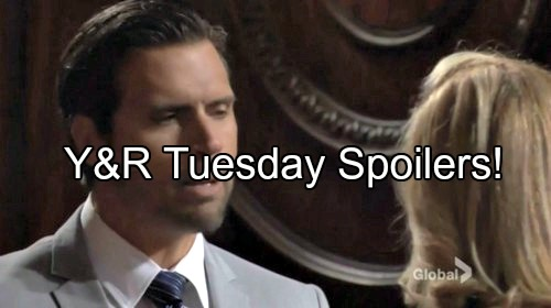 'The Young and the Restless' Spoilers: Nick Wants Nikki to See Victor's Guilt – The Moustache Reassures Chelsea He'll Save Adam