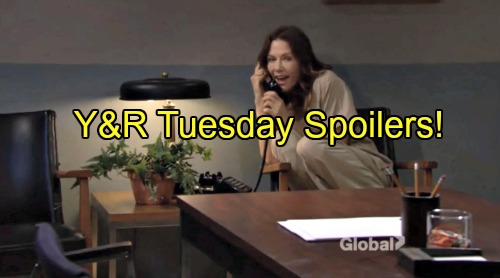 The Young and the Restless Spoilers: Chelsea Catches Kevin Naked – Sharon Rattled by Patty's Call – Lily Fears Cane's Cheating