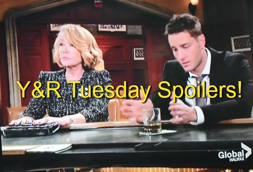 The Young and the Restless Spoilers: Summer Tries To Stop Victor & Adam Killing Luca - Nikki Plots Against The Moustache