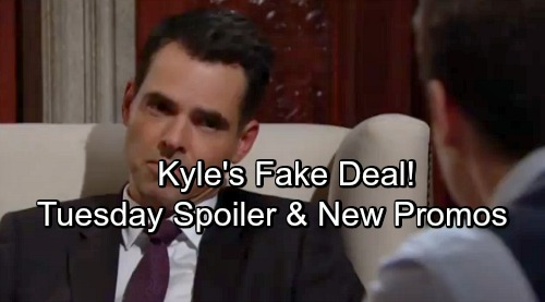 The Young and the Restless Spoilers: Tuesday, May 1 – Kyle's Fake Alliance With Billy – Nikki's Tough Sacrifice - New Video Promo