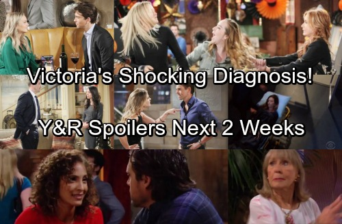 The Young and the Restless Spoilers: Next 2 Weeks - Victoria's Shocking Diagnosis - Graham Discovered - Scott's Bloody Battle