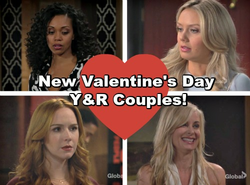 The Young and the Restless Spoilers: Valentine's Day New Couples in Genoa City?