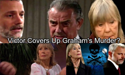 The Young and the Restless Spoilers: Dina Turns to Victor After Violent Shocker – Covers Up Graham's Murder?