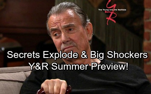 The Young and the Restless Spoilers: Y&R Summer Preview – Exploding Secrets, A Dynasty Betrayed and Major Curveballs