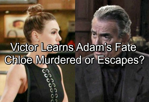 The Young and the Restless Spoilers: Adam's Fate Revealed – Chloe Burned The Moustache, Will She Die or Escape GC?