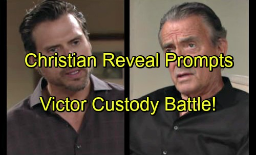 The Young and The Restless Spoilers: Victor Stuns Nick With Custody Battle - Wants Adam's Son Christian After Sully Reveal