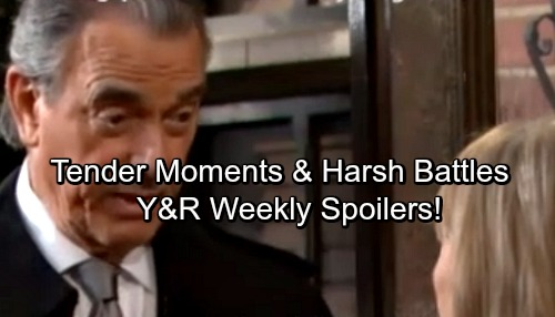The Young and the Restless Spoilers: Week of March 12-16 – Dangerous Moves, Tender Moments and Heated Confrontations