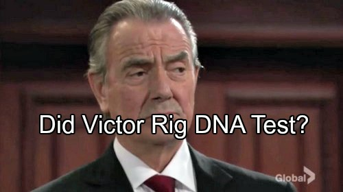 The Young and the Restless Spoilers: Did Victor Newman Tamper With Bella's DNA Test?