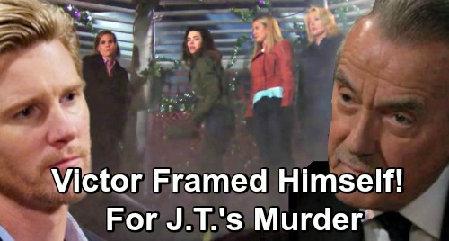 The Young and the Restless Spoilers: Victor Framed Himself For J.T.'s Murder to Protect Nikki and Victoria – Scheme Dupes Rey?