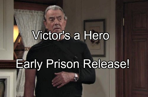 'The Young and the Restless' Spoilers: Victor's Selfless Bravery Shifts Family's View – The Moustache Early Release From Prison