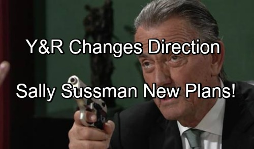 The Young and the Restless Spoilers: Kindly Victor, Nice Billy and Sharon Sane - What To Expect From Sally Sussman