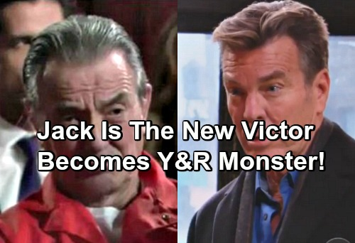 The Young and the Restless Spoilers: Jack Is The New Victor - Transforms Into Manipulating Monster