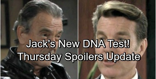 The Young and the Restless Spoilers: Thursday, May 10 Update – Jack Decides on Another DNA Test – Ravi Confesses to Ashley