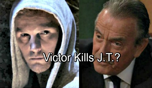 The Young and the Restless Spoilers: J.T.'s Luck Runs Out, Can't Escape Death Again – Bloody Battle with Victor Ahead