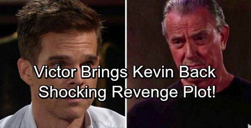 The Young and the Restless Spoilers: Victor Brings Kevin Back to For Vengeful Plot – Kevin's Discoveries Shock Genoa City