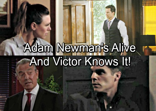 The Young and the Restless Spoilers: Victor's Helping Chloe Because He Knows Adam Newman is Alive