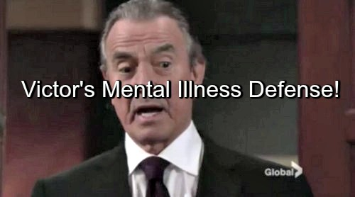 The Young and the Restless (Y&R) Spoilers: Victor's Illness Helps Defense, Argues Brain Condition Warped His Mind