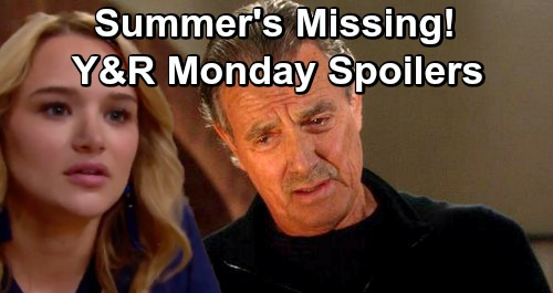 The Young and the Restless Spoilers: Monday, January 28 – Victor Searches for Missing Summer – Sharon and Nick Spar Over Dark Secrets