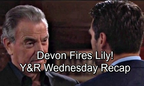 The Young and the Restless Spoilers: Wednesday, August 8 Update – Lily Gets Fired – Victor's Serious Ammo – Lauren Faces Two Setbacks