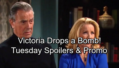 The Young and the Restless Spoilers: Tuesday, January 23 - Victoria Drops a Bomb on Victor and Nikki – Phyllis' Nightmare Plan