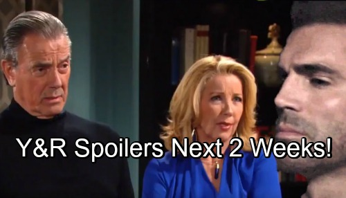 The Young and the Restless Spoilers Next 2 Weeks: Rey Suspects Victor and Nikki – Lily's Fate – Kyle's Rotten Move