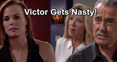 The Young and the Restless Spoilers: J.T. Crisis Shocking Shift - Victor Destroys Lives To Save Family